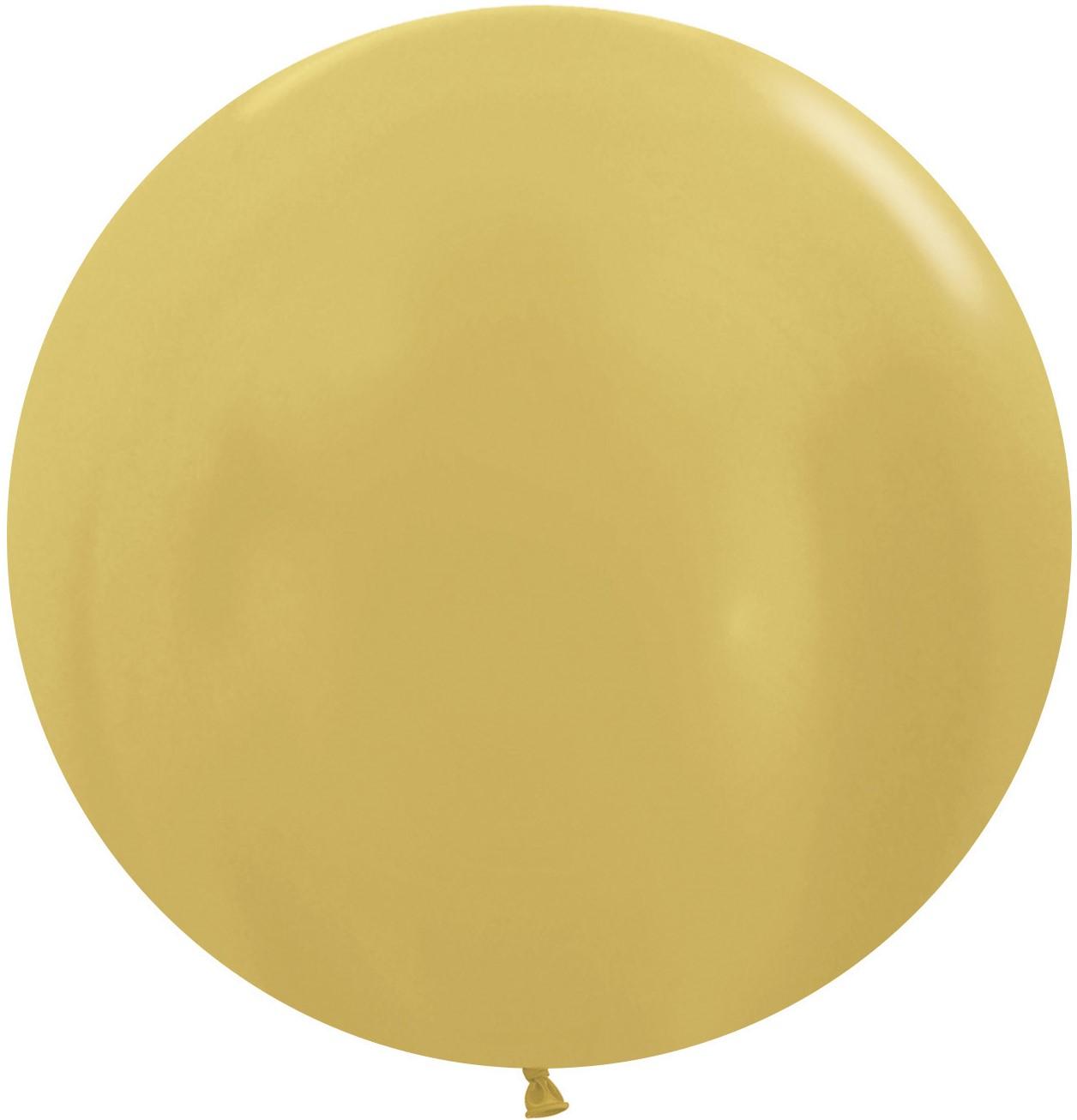 Большой шар гигант, золото (91 см)