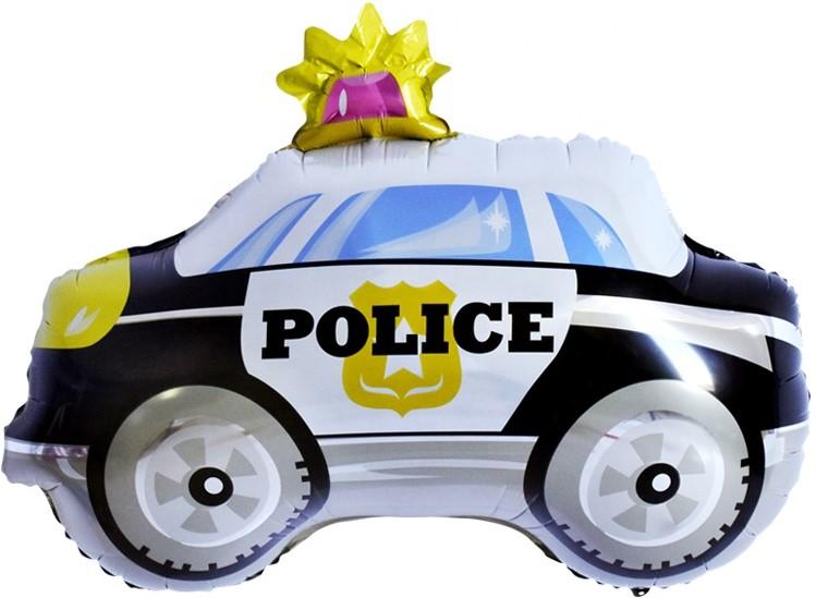 """Фольгированная фигура """"Полицейская машина"""" (74 см)"""
