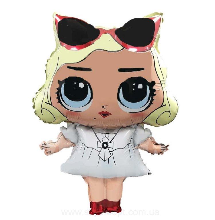 """Фольгированная фигура """"Куколка, Монро"""" (74 см)"""