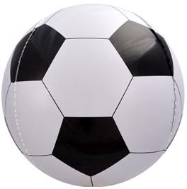 Фольгированная сфера 3D, Футбольный мяч (58 см)