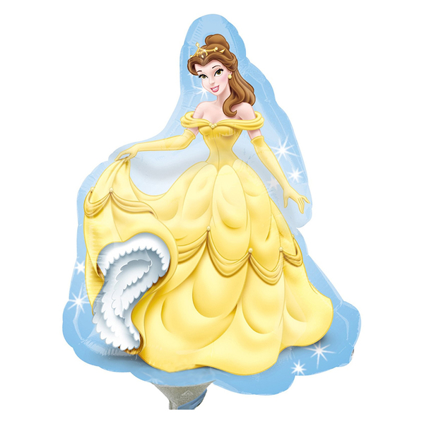 """Фольгированная фигура """"Принцесса Белль"""" (99 см)"""