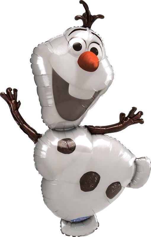 """Фольгированный шар """"Снеговик Олаф"""" (63 см)"""
