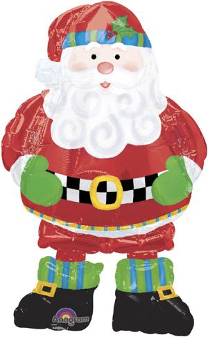 Ходячая фигура Санта (94 см)