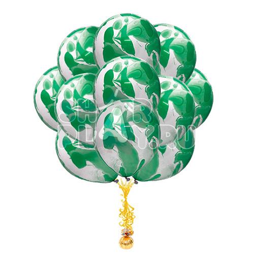 """Облако """"С узорами, Зеленый"""""""