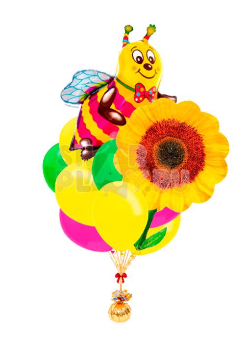"Облако ""Пчела с подсолнухом"""