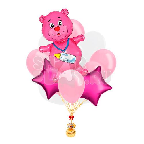 """Облако """"Розовый медвежонок"""""""