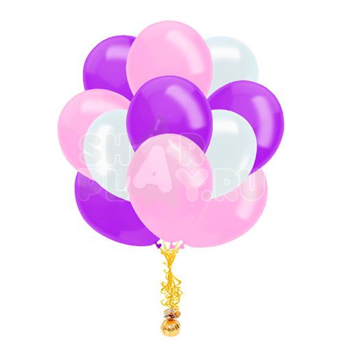 """Облако """"Фиолетовый/Розовый/Белый"""""""