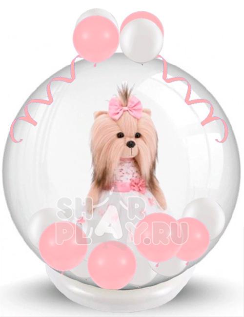 Шар с игрушкой Lucky Doggy Элегантность (60 см)