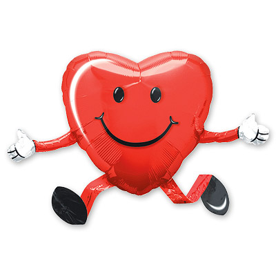 Ходячая фигура Сердце (48 х 66 см)