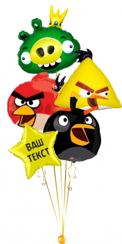 Фонтан Angry birds