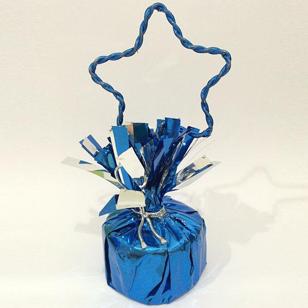 Грузик для воздушных шаров Звезда BLUE