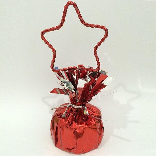 Грузик для воздушных шаров Звезда RED