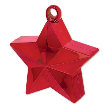 Грузик звёздочка, красный