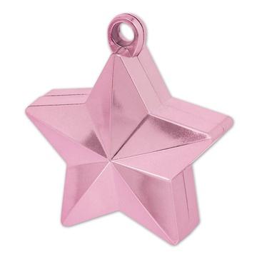 Грузик звёздочка, розовый
