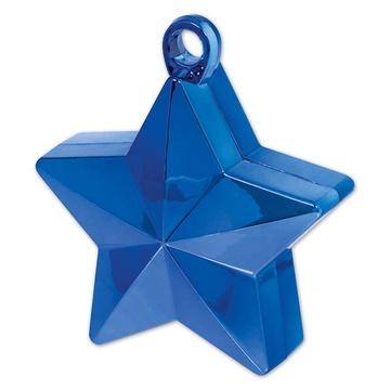 Грузик звёздочка, синяя