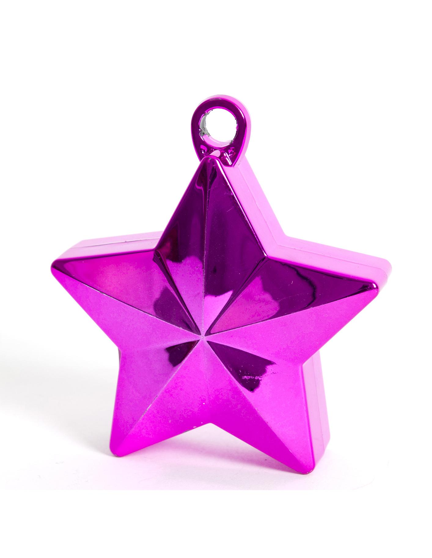 Грузик звёздочка, фиолетовый