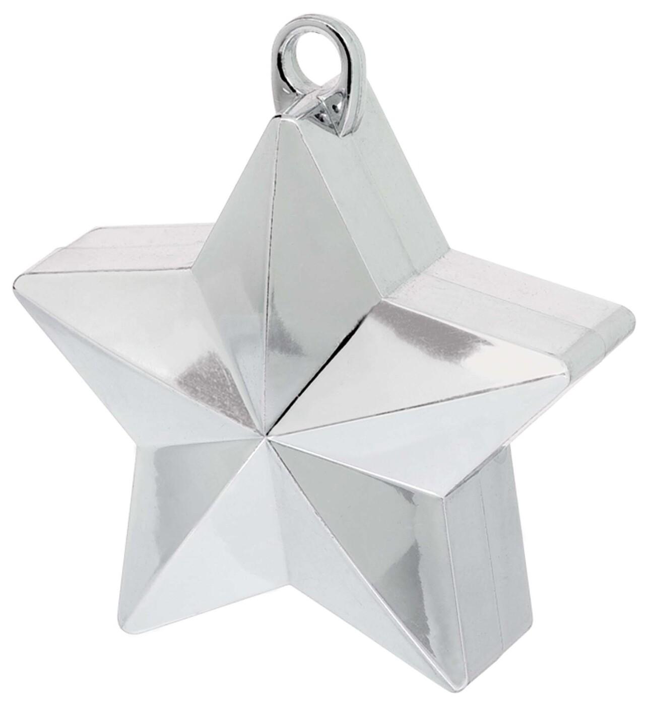 Грузик звёздочка, серебро