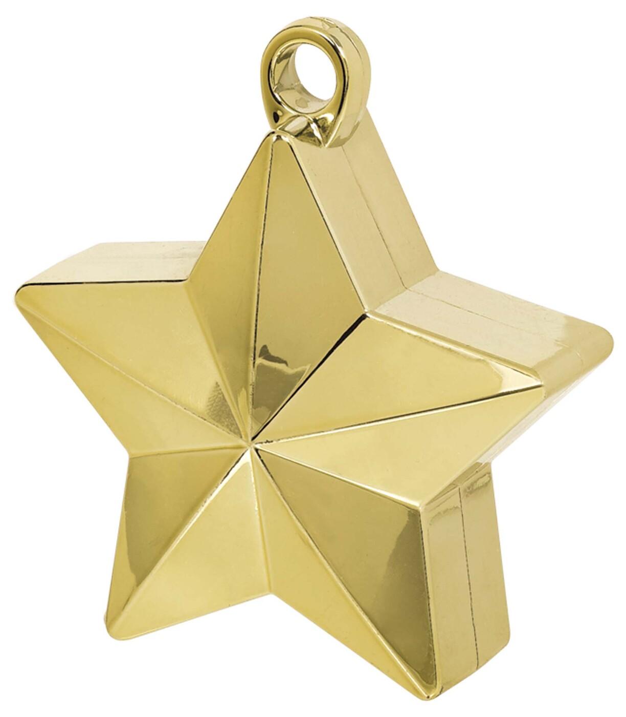 Грузик звёздочка, золото